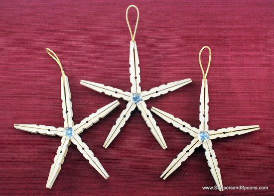 adorno-navidad-diy-estrellas-pinzas