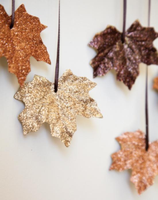 adorno-navidad-diy-hojas-purpurina
