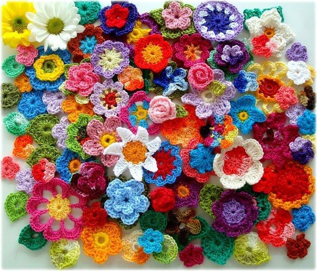 flores de ganchillo | kuki designs